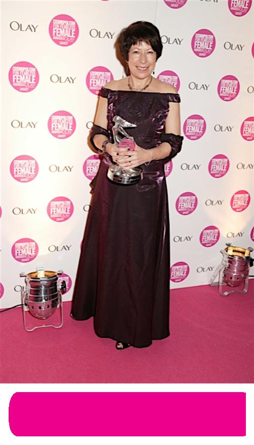 Sue Parker Cosmopolitan Award